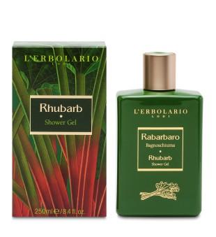 L'Erbolario Rhubarb Shower Gel Dušo gelis su rabarberų ekstraktu, 250ml | inbeauty.lt