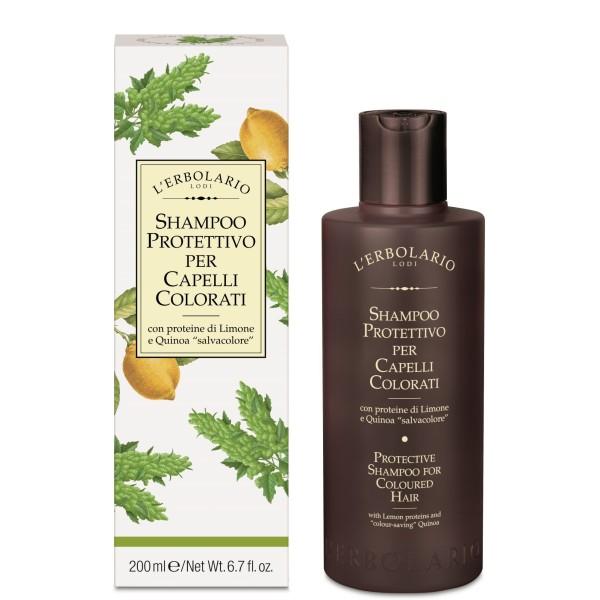 Protective Shampoo For Coloured Hair Šampūnas dažytiems plaukams, 200ml