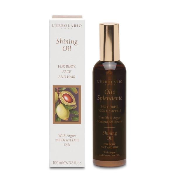 Shining Oil Purškiamas aliejus veidui, kūnui, plaukams, 100ml