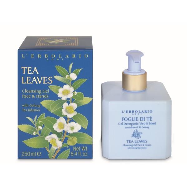 Tea Leaves Clenasing Gel Face & Hands Valomasis veido ir rankų gelis, 250ml