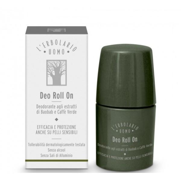 Uomo Rutulinis dezodorantas vyrams su baobabo aliejumi, 50 ml