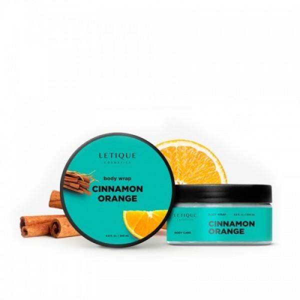 Cinnamon Orange Body Wrap Karštas įvyniojimas su apelsinais ir cinamonu, 200ml