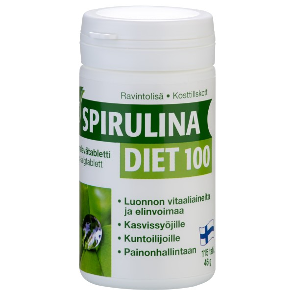Spirulina Diet 100, 115 tab.