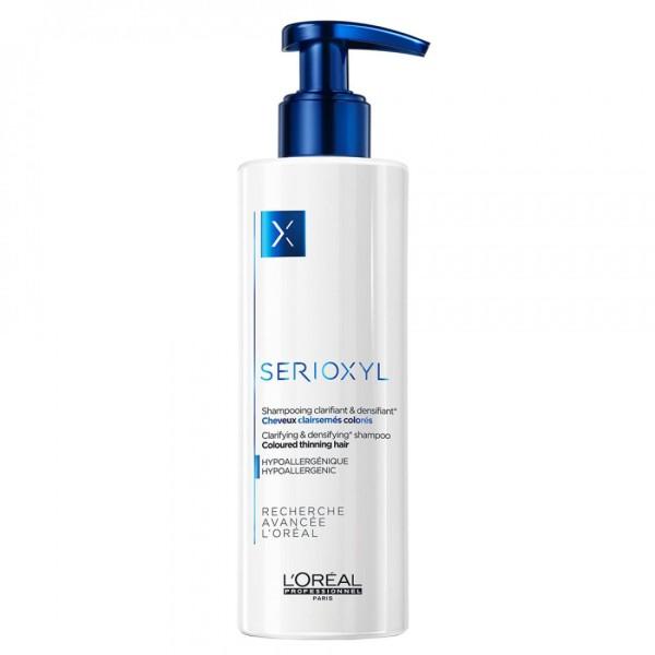 SERIOXYL Clarifying & Densifying Shampoo Apimties suteikiantis šampūnas, 250ml