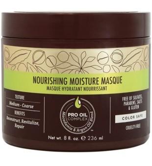 Macadamia Noirishing Moisture Maitinanti ir drėkinanti kaukė plaukams, 230 ml | inbeauty.lt