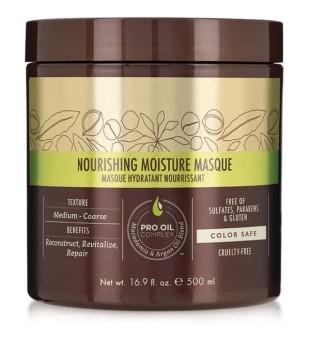 Macadamia Noirishing Moisture Maitinanti ir drėkinanti kaukė plaukams, 500 ml | inbeauty.lt
