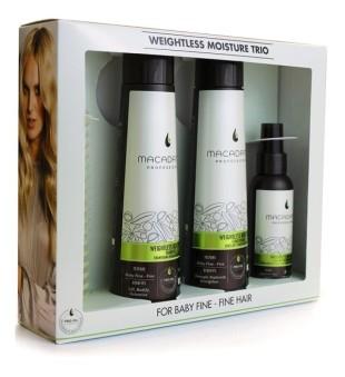 Macadamia Macadamia Moisture Trio Kit Neapsunkinantis plaukų priežiūros rinkinys | inbeauty.lt