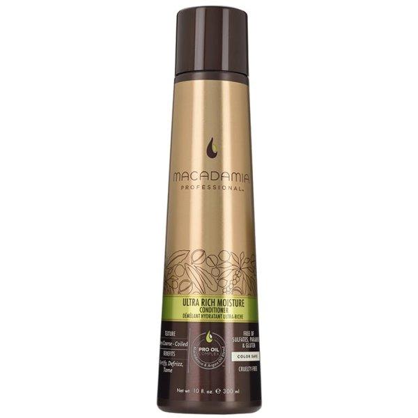 Ypač drėkinantis kondicionierius pažeistiems plaukams ULTRA RICH MOISTURE, 300 ml