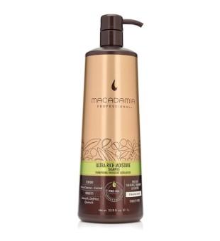 Macadamia Ultra Rich Moisture Shampoo Ypač drėkinantis šampūnas pažeistiems plaukams, 1000 ml | inbeauty.lt