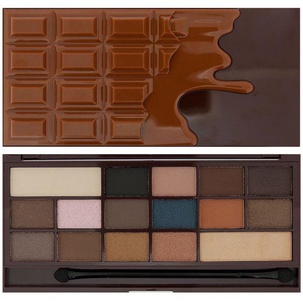 I heart Cocolate Makeup šešėlių paletė, 1 vnt.
