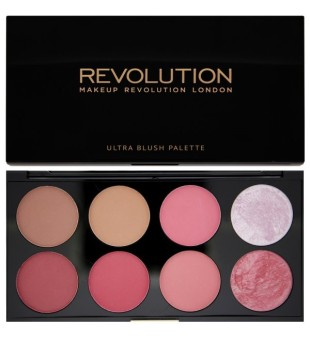Makeup revolution Ultra Professional Blush skaistalų paletė, Sugar and Spice, 1 vnt. | inbeauty.lt