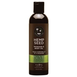 HEMP SEED masažinis kūno aliejus Naked in the Woods, 236 ml