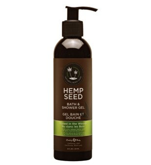 Hemp Seed Naked In The Woods Bath & Shower Gel Kūno prausiklis, 237ml | inbeauty.lt