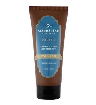 Marrakesh Men's Porter Styling Gel Vyriškas plaukų formavimo gelis, 207 ml | inbeauty.lt