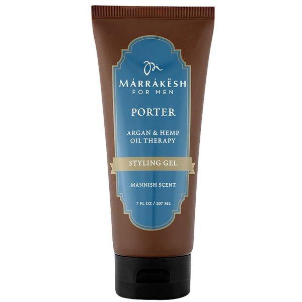Men's Porter Styling Gel Vyriškas plaukų formavimo gelis, 207 ml