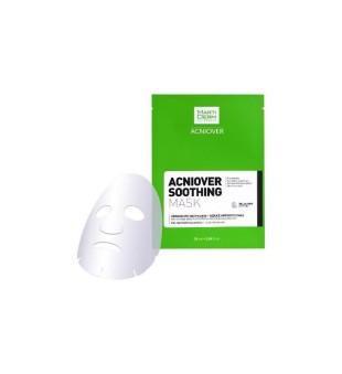 MartiDerm ACNIOVER Soothing Mask Raminamoji kaukė į aknę linkusiai veido odai, 1vnt | inbeauty.lt