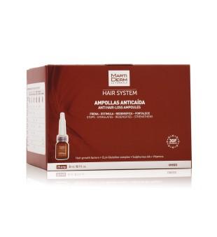 MartiDerm Anti Hair-Loss Ampoules Ampulės nuo plaukų slinkimo, 28x3ml | inbeauty.lt