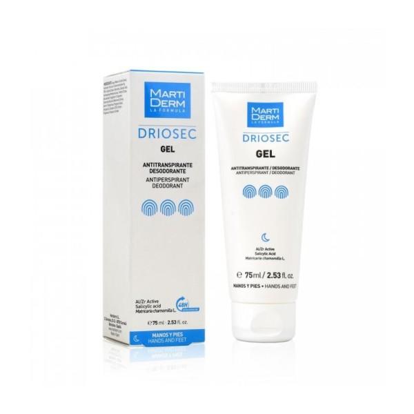 DRIOSEC Gel Gelinis dezodorantas rankoms ir pėdoms, 75ml