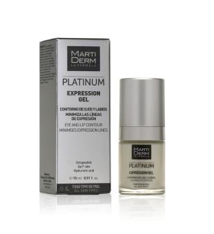 MartiDerm Expression Gel Gelinis kremas akių ir lūpų kontūrui, 15ml | inbeauty.lt
