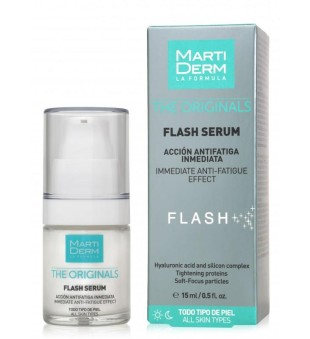MartiDerm Flash Serum Serumas, šalinantis nuovargio žymes, 15ml | inbeauty.lt