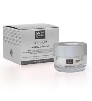 MartiDerm GF Vital-Age Cream Drėkinamasis kremas sausai/labai sausai odai, 50ml | inbeauty.lt