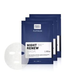 MartiDerm Night Renew Atkuriamoji naktinė veido kaukė, 1vnt | inbeauty.lt