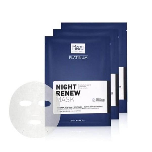 Night Renew Atkuriamoji naktinė veido kaukė, 1vnt