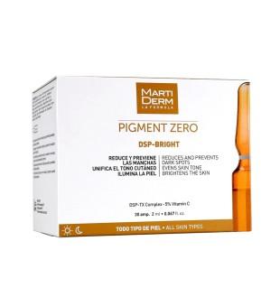 MartiDerm PIGMENT ZERO DPS-BRIGHT Depigmentacinės ampulės veidui, 30vnt. | inbeauty.lt
