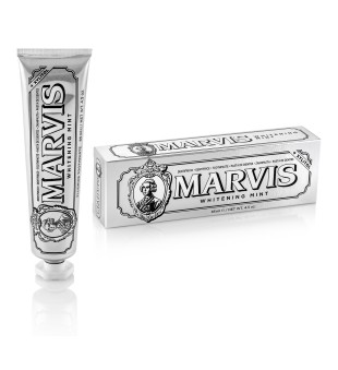 Marvis Whitening Mint Balinanti mėtų skonio dantų pasta, 85 ml   inbeauty.lt