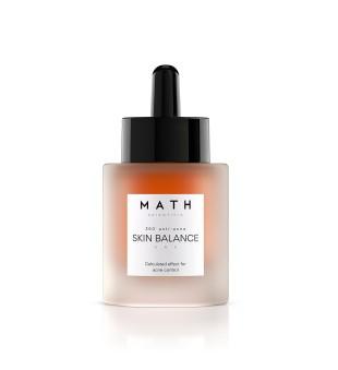 MATH Scientific Skin Balance Matizuojantis, balansuojantis serumas mišriai odai, 30ml | inbeauty.lt