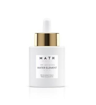 MATH Scientific Water Element Stimuliuojantis drėkinamasis serumas, 30ml | inbeauty.lt
