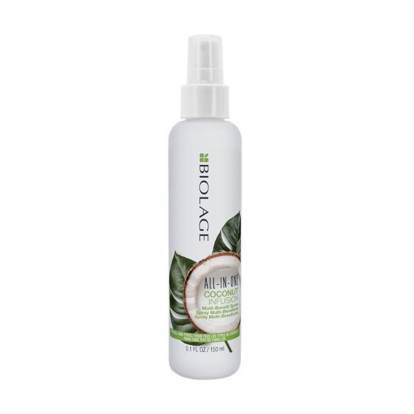 All-In-One Coconut Infusion Multi-Benefit Spray Daugiafunkcis plaukų purškiklis, 150ml