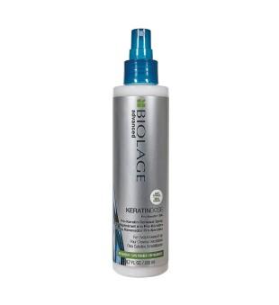 Matrix KeratinDose Pro-Keratin Spray Atkuriamasis purškiklis pernelyg apdorotiems plaukams, 200ml   inbeauty.lt
