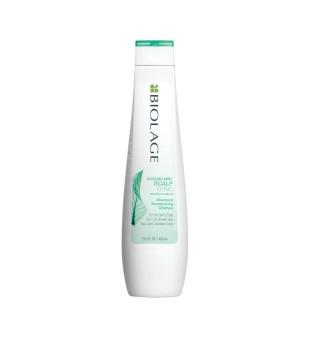 Matrix ScalpSync Cooling Mint Shampoo Vėsinantis šampūnas riebiai galvos odai, 250ml | inbeauty.lt