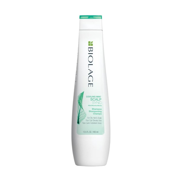 ScalpSync Cooling Mint Shampoo Vėsinantis šampūnas riebiai galvos odai, 250ml