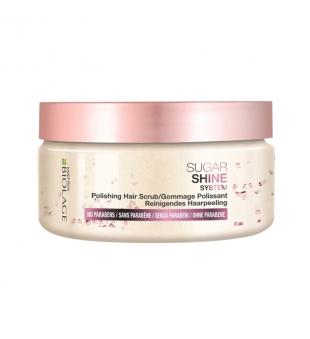 Matrix Biolage Sugar Shine System Polishing Hair Scrub Galvos odos ir plaukų šveitiklis su cukraus kristalais, 220g | inbeauty.lt