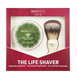 The Life Shaver Kit Sicilijos laimo aromato skutimosi rinkinys, 1 vnt.