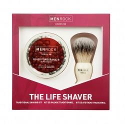Granatų aromato The Life Shaver skutimosi rinkinys
