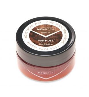 Menrock Oak Moss Moustache Wax Ąžuolo aromato ūsų vaškas, 25 ml | inbeauty.lt