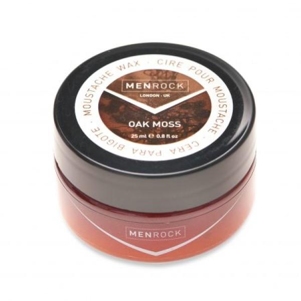 Oak Moss Moustache Wax Ąžuolo aromato ūsų vaškas, 25 ml