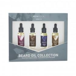 Beard Oil Collection Barzdos aliejų rinkinys, 4x30 ml