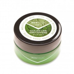 Sicilian Lime And Caffeine Moustache Wax Pabudinantis ūsų vaškas, 25ml