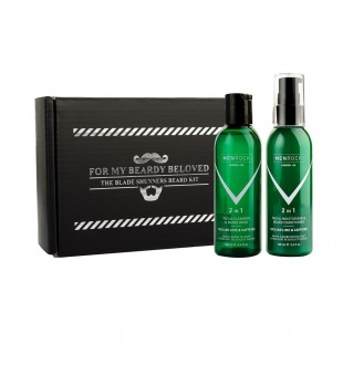 Men Rock Sicilian Lime Beard Balm and Soap Set Pabudinantis barzdos rinkinys, 1 vnt.   inbeauty.lt