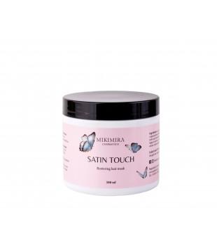 Mikimira Cosmetics Satin Touch Hair Mask Atkuriamoji plaukų kaukė, 200ml   inbeauty.lt