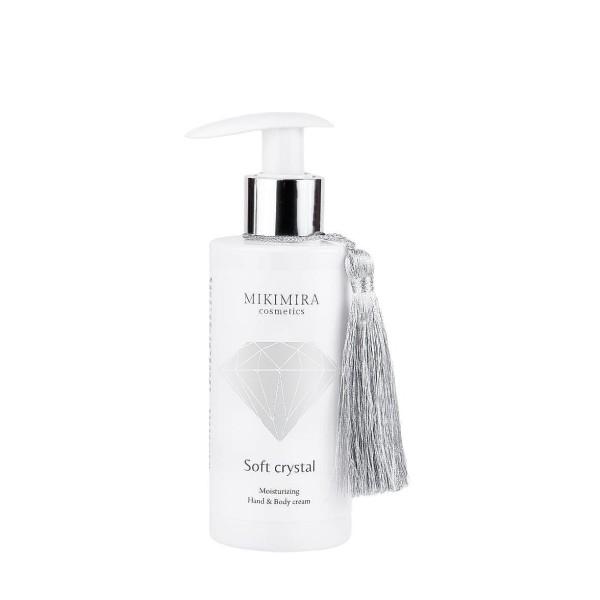 Soft Crystal Moisturizing Hand & Body Cream Drėkinamasis rankų ir kūno kremas, 150ml
