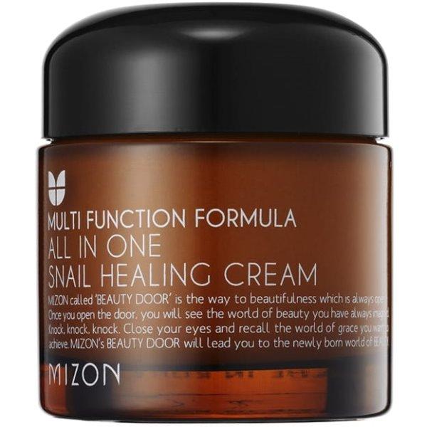 Multifunction Formula All in One Snail Healing Cream Daugiafunkcinis veido kremas, 75 ml