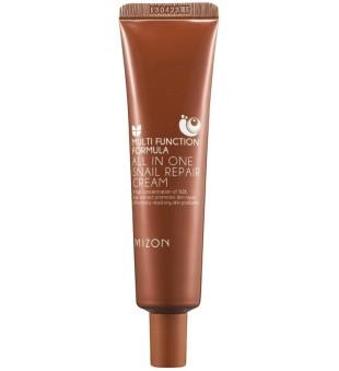 Mizon Multi Function All in One Snail Repair Cream Daugiafunkcis veido kremas su juodųjų sraigių ekstraktu, 35 ml | inbeauty.lt
