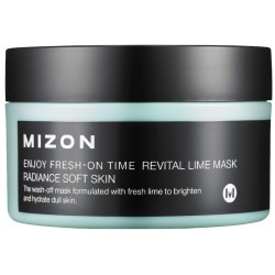 Enjoy Fresh-On Time Revital Lime Mask Gaivinanti veido kaukė su žaliosiomis citrinomis, 100 ml