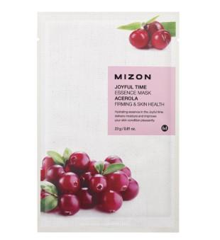 Mizon Joyful Time Essence Mask Acerola Veido kaukė su acerola vyšniomis, 23g | inbeauty.lt