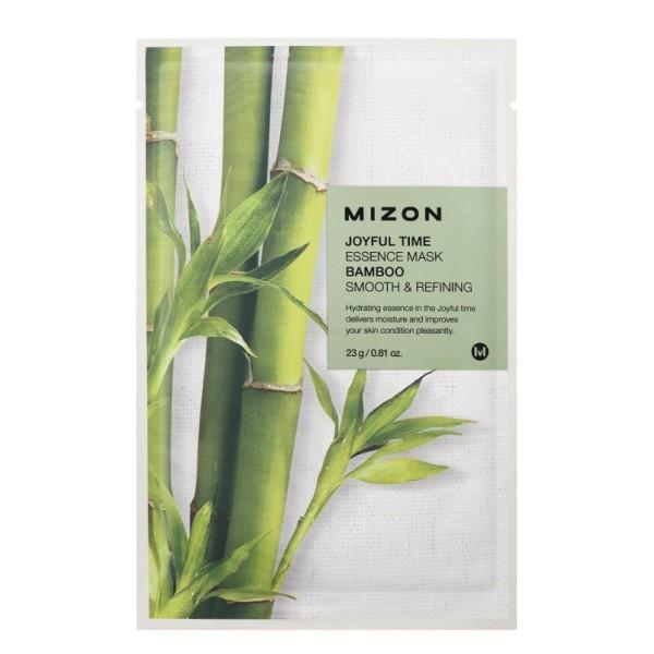 Joyful Time Essence Mask Bamboo Veido kaukė su bambuku, 23g